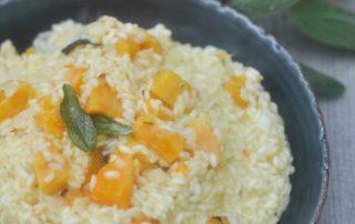 butternut squash pumpkin risotto_