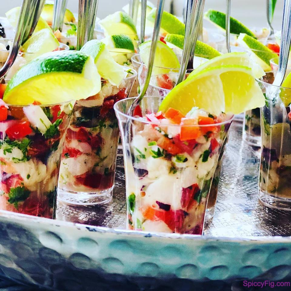 SpicyFig - Riviera Catering - Ceviche