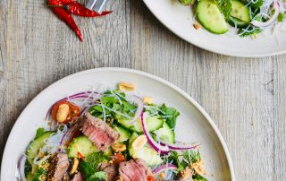 Thai Beef Salad with Noodles