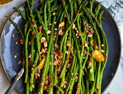 Roasted Asparagus with Citrus & Almonds