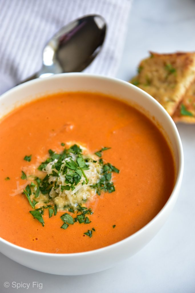 cream of tomato soup, Cream of Tomato Soup, SpicyFig