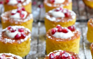 Sticky Orange and Almond Cakes (Gluten Free)