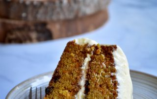 Carrot Cake with Maple Cream Cheese