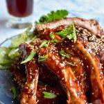 asian bbq ribs, Sticky Asian BBQ Ribs, SpicyFig
